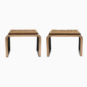 Italian Stools, 1930s, Set of 2