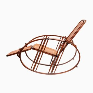 Vintage Egg Rocking Chair by Josef Hoffmann