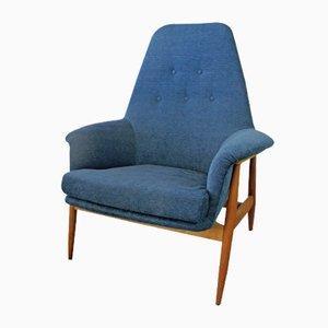 Vintage Teak Easy Chair, 1950s