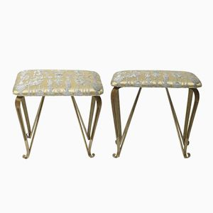 Vintage Italian Footstools, Set of 2