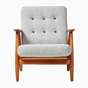 GE-240 Oak Cigar Chair by Hans J. Wegner for Getama, 1950s