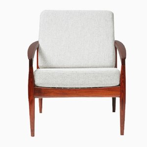 Rosewood Paper Knife Chair by Kai Kristiansen for Magnus Oleson, 1950s