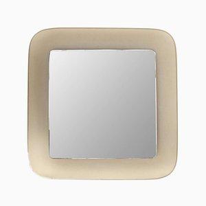 Quadratischer Vintage Spiegel