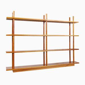 Solid Wooden Bookshelf, 1960s