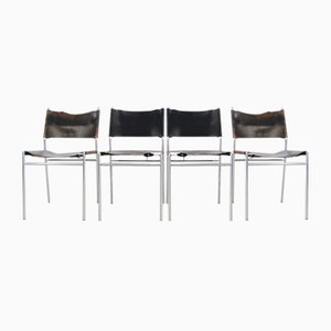SE06 Esszimmerstühle von Martin Visser für 't Spectrum, 1960er, 4er Set