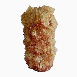 Vaso M018 in cristallo di Isaac Monté