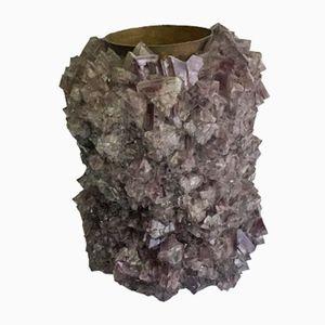 Vaso L035 in cristallo di Isaac Monté