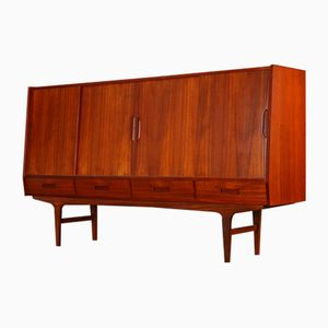 Danish Teak Sideboard by Børge Seindal for Westergaard, 1960s