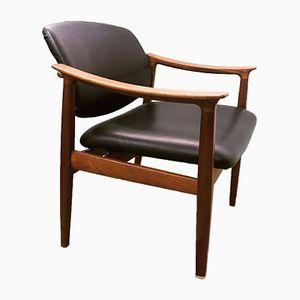 Desk Chair by Finn Juhl for France & Søn, 1950s
