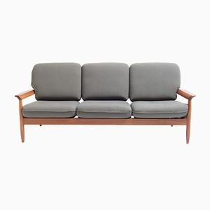 Mid-Century Three-Seater Bench, 1960s