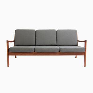 Dänisches Drei-Sitzer Sofa von Ole Wanscher für France & Søn, 1960er