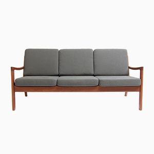 Danish Three- Seater Sofa by Ole Wanscher for France & Søn, 1960s