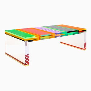 Plexiglass DNA Coffee Table by Studio Superego