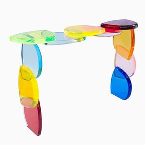 Bon Bon Plexiglass Console Table by Poliedrica, 2017