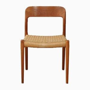 Vintage Model 75 Chair by Niels O. Møller