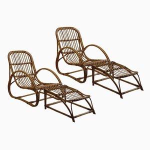 Schilfrohr Sessel und Hocker von Dryad und Angraves, 1960er