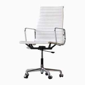 Chaises de Bureau Mid-Century EA 119 en Aluminium par Charles & Ray Eames pour Vitra, Set de 2