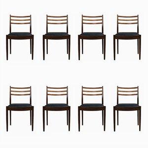 Teak Esszimmerstühle von Victor Wilkins für G-Plan, 1960er, 8er Set