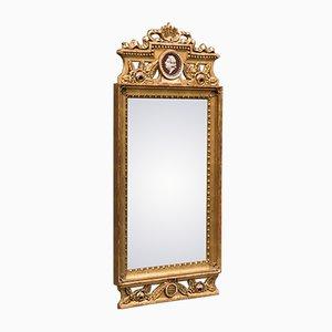 Antiker Gustavianischer Spiegel