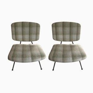 Vintage CM190 Stühle von Pierre Paulin für Thonet, 2er Set