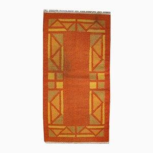 Vintage Handmade Persian Gabbeh Kilim Rug, 1970s