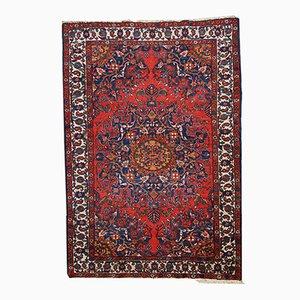 Vintage Handmade Persian Mashad Rug, 1970s