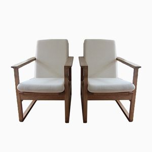 Model 2256 Lounge Chairs by Børge Mogensen for Fredericia, 1956, Set of 2