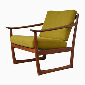 Model FD130 Easy Chair by Peter Hvidt & Orla Mølgaard-Nielsen for France & Son, 1964