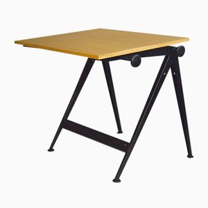 Reply Drawing Desk by Friso Kramer and Wim Roetveld for Ahrend De Cirkel, 1950s