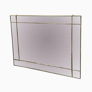 Italienischer Spiegel mit Vergoldetem Rahmen, 1970er