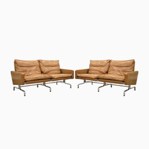 PK31 Sofa by Poul Kjaerholm for E. Kold Christensen, 1971, Set of 2
