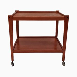 Danish Teak Serving Bar Cart from Salin Nyborg, 1970s