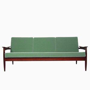 Palisander Drei-Sitzer Sofa, 1960er