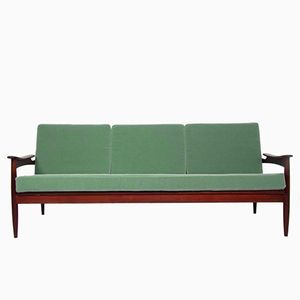 Rosewood Three-Seater Sofa, 1960s