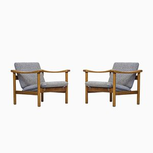 GE 280 Chairs by Hans J. Wegner for Getama, 1960s, Set of 2