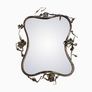 Skulpturaler Italienischer Spiegel von Salvino Marsura, 1960er