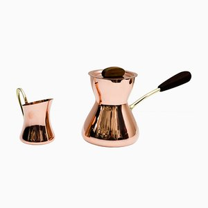 Mid-Century Coffee Maker by Franz Hagenauer, 1950s, Set of 2