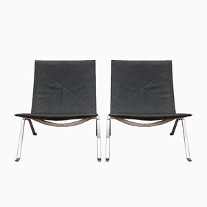 PK22 Lounge Chairs by Poul Kjaerholm for Fritz Hansen, 2014, Set of 2