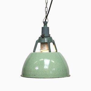 Light Green Industrial Lamp, 1960s