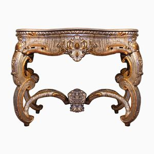 Italian Silver-Gilt Console Table, 1780s