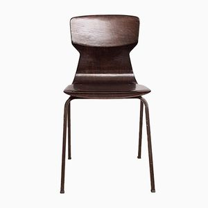 Schulstuhl aus Schichtholz von Obo Eromes, 1960er