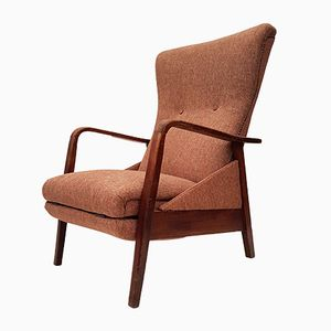 Lounge Chair with Footrest, 1960s