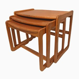 Triptych Nesting Tables, 1960s