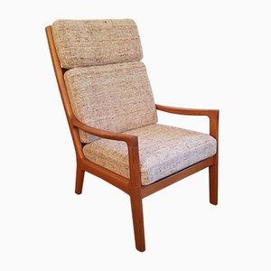 Senator Easy Chair by Ole Wanscher for Peter Jeppesen, 1970s