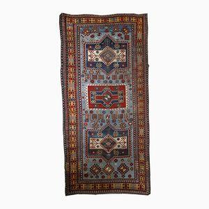 Antique Handmade Caucasian Shirvan Rug, 1880s