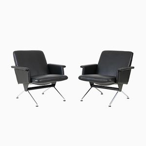 Mid-Century Modern No.1432 Lounge Chairs by Andre Cordemeijer for Gispen, 1960s, Set of 2