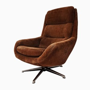 German Swivel Lounge Chair, 1970s