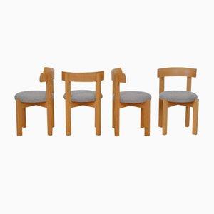 Schweizer Stühle von Anliker, 1960er, 4er Set