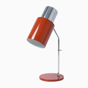Vintage Red Table Lamp by Josef Hurka for Napako, 1970s