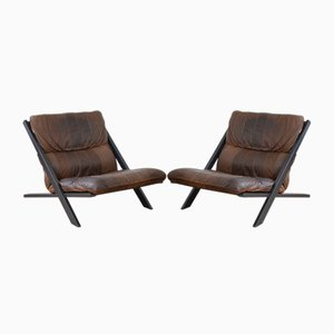 Easy Chairs by Susi & Ueli Berger for de Sede, 1970s, Set of 2